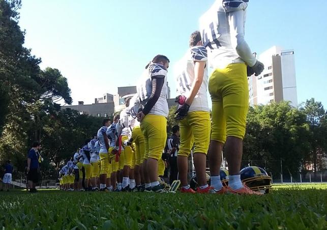 a12d92b4f8 Lions e Guardian Saints se enfrentam em Curitiba neste sábado ...