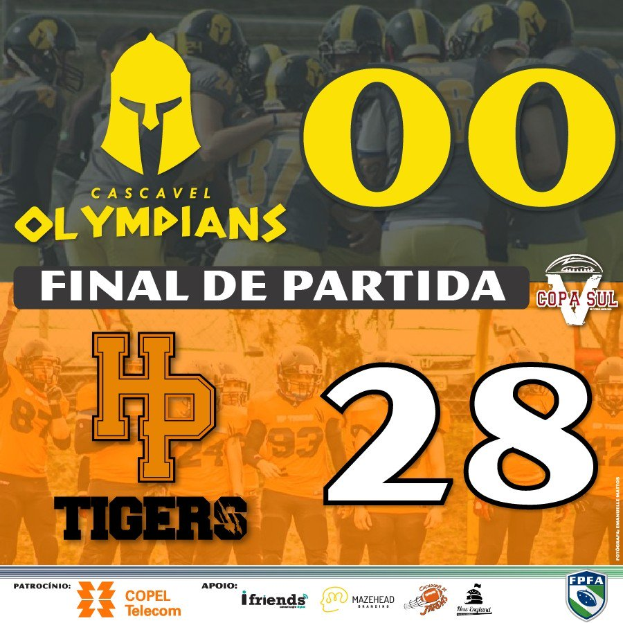 2017.08.27 - Cascavel Olympians e HP Tigers