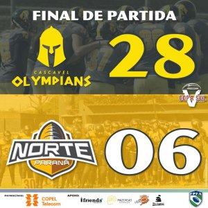Olympians e Norte Paraná
