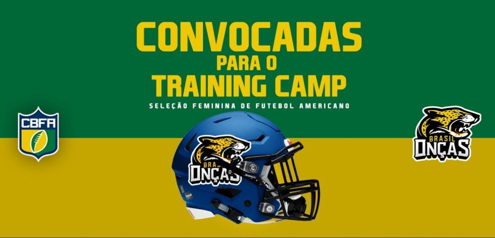 CBFA convocadas training camp brasil oncas